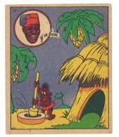 Chromo Banania Signé Vica (n° 12 ) - Négritude, Banane, Y´a Bon - Banania