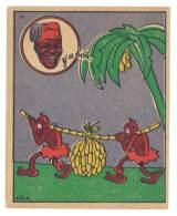Chromo Banania Signé Vica (n° 14 ) - Négritude, Banane, Y´a Bon - Banania