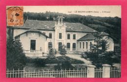 38 ISERE LE GRAND-LEMPS, L'Hôpital, Animée,  1927 - Autres Communes