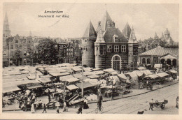 3958. CPA PAYS BAS. AMSTERDAM. NIEUWMARKT MET WAAG - Amsterdam