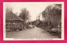 38 ISERE, Camp De CHAMBARAN, Vue Du Mess Des Officiers, Animée, (Raymond) - Casernes