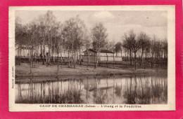 38 ISERE, Camp De CHAMBARAN, L'Etang Et La Poudrière, 1909, (Raymond) - Casernes