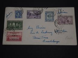 CANADA - Enveloppe De Montréal  Pour La Guadeloupe En 1949, Affranchissement Plaisant Mixte - A Voir - L 866