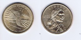 Stati Uniti - 1 Dollaro Nativi Americani 2010 - Zecca P - 2007-…: Presidents