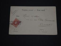 ESPAGNE- Annulation Griffe Sur Timbre Sur Carte Postale De Orotava - A Voir - L 867 - 1889-1931 Royaume: Alphonse XIII