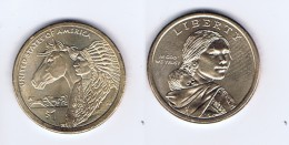 Stati Uniti - 1 Dollaro Nativi Americani 2012 - Zecca P - Emissioni Federali