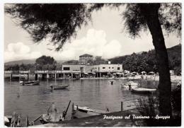 PASSIGNANO SUL TRASIMENO - SPIAGGIA - PERUGIA - 1966 - Perugia