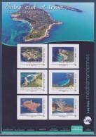 = Collector Entre Ciel Et Terre Les Îles Françaises 6 Timbres LV20g COL216 Les Îles Méditéranéennes Porquerolles Embiez - Collectors