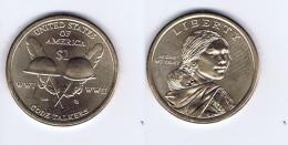 Stati Uniti - 1 Dollaro Nativi Americani 2016 - Zecca P - Bondsuitgaven
