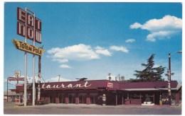 Vancouver Washington, Totem Pole Restaurant, Kentucky Fried Chicken Sign, C1960s Vintage Postcard - Vancouver