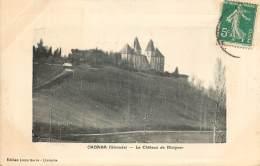 CARTE POSTALE : CABARA . LE CHATEAU DE BLAIGNAC . - France