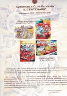X LE QUATTRO EPOCHE DELLA TARGA FLORIO 4 GRAFICHE IN CARTELLA NUMERATE & FIRMATE - Litografia