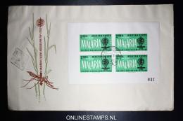 Ungarn Hungary Mi Block 35 B 1962 First Day Cover