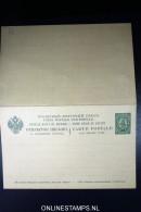 Russia: Levant Postcard P2   P 2avec Réponse, Not Used