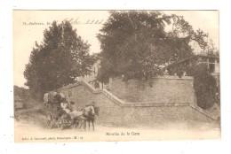 CPA  30 SAINT AMBROIX Montée De La Gare Attelage 1904 - Saint-Ambroix