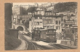 LYON -- Funiculaire Saint-Just - FUNICULAIRE - TRAIN - TRAMWAY - Otros