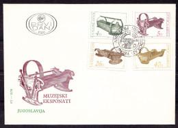 YUGOSLAVIA ,  OLD  BABY  CARRIAGES  ,  COVER - Infanzia & Giovinezza