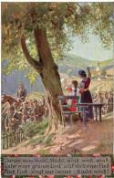 3994. CPA ALLEMAGNE ILLUSTRATEUR. FEMMES SALUANT LES SOLDATS - 1900-1949