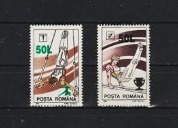 1998 - Serie Courante Gymnastique Michel No 5346/5347 Et Yv No 4477/4478 MNH - 1948-.... Repubbliche