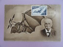 CARTE MAXIMUM CARD AVION N° 3 D'ADLER AVEC CACHET ORDINAIRE - 1940-49