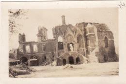 Photo Aout 1918 MOREUIL - Le Château (A150, Ww1, Wk 1) - Moreuil