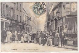 PARIS /   LA RUE PIXERICOURT  /////   REF  JUILLET 16 /  PARTIE 6 - Arrondissement: 20