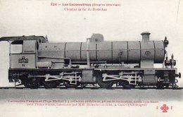 LOCOMOTIVE De  L´ Empire Ottoman  Type Mallet Chemin De Fer Du Hedschas - Treni