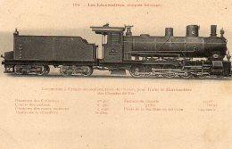 LOCOMOTIVE De  L´ Empire Ottoman - Treni