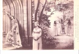 Religion Et Esotérisme-Jeunesse De Sainte Elisabeth De Hongrie Et De Thuringe (1207-1231)-en Prière Près De La Chapelle - Religion & Esotérisme