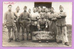 Foto- Cartolina D'epoca - Militare - Gruppo Di Militari Francesi - MIL12 - Guerra, Militari