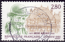 FRANCE  1995  -  Y&T  2966 - Maginot - Oblitéré - Used Stamps