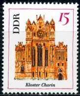A11-26-3) DDR - Michel  1247 - ** Postfrisch - 15Pf  Bauwerke I, Kloster Chorin, Kirche - [6] Oost-Duitsland