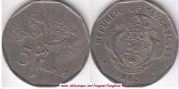 SEYCHELLES 5 Rupees 1982 KM#51.1 - Used - Seychelles