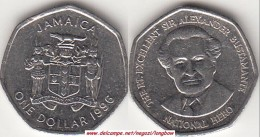 GIAMAICA 1 Dollar 1996 KM#164 -used - Giamaica