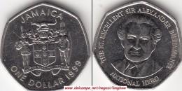 GIAMAICA 1 Dollar 1999 KM#164 -used - Giamaica