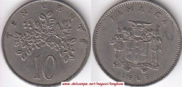 GIAMAICA 10 Cents 1969 KM#47 - Used - Giamaica