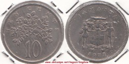 GIAMAICA 10 Cents 1972 KM#47 - Used - Giamaica