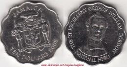 GIAMAICA 10 Dollars 2005 KM#181 - Used - Giamaica