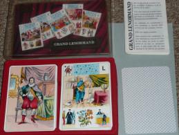 Rare Ancien Jeu De Cartes, Cartomancie, La Bonne Aventure, LE GRAND LENORMAND, En Boite Avec Notice D´utilisation - Jeux De Société