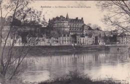 France Amboise Le Chateau Vu Des Bords De La Loire - Amboise