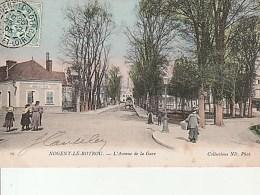 58.Nogent Le Rotrou-L'Avenue De La Gare.Coll.ND Photo. - Nogent Le Rotrou