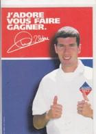 "Zinédine Zidane  "" Leader Price "" - Voetbal"