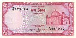 BANGLADESH 10 TAKA ND (1978) P-21 UNC WITH P/H [BD315a] - Bangladesh
