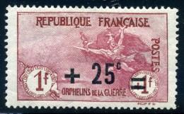 FRANCE -1922 YVERT N° 168 NEUF AVEC CHARNIERE  COTE 36E - France