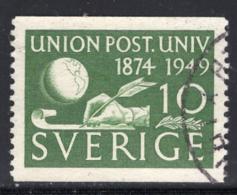 Schweden, Mi 351A, 75 Jahre Weltpostverein (UPU). - Usati