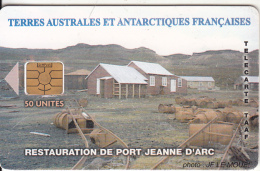 """TAAF - Restauration De Port Jeanne D"""" Arc(no Logo), Tirage 2700, 07/04, Used - TAAF - French Southern And Antarctic Lands"""