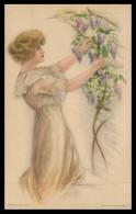 EUA - ILUSTRADORES - Painted By Pearl  Fidler LeMunyan ( Ed. Edward Gross / Stanlaws Nº 78) Carte Postale - Illustrateurs & Photographes