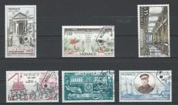 """Monaco YT 526 à 531 """" Cinquantenaire Du Musée Océanographique """" 1960 Oblitérés - Oblitérés"""