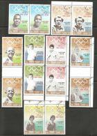 Khor Fakkan 1969 Mi# 219-225 Used - Set In Pairs - Gold Medallists / Summer Olympic Games - Khor Fakkan