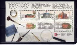Canada #1125A, CAPEX 87: MNH   1987 Various Post Office - Blocs-feuillets